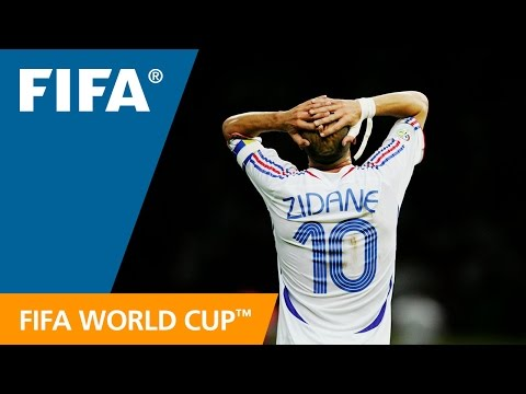 【2006 WORLD CUP FINAL】ジダンの引退試合となった試合をもう一度!