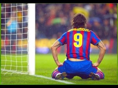 公式戦21ゴールを決めたイブラヒモビッチが、わずか1年でバルセロナを退団した理由。